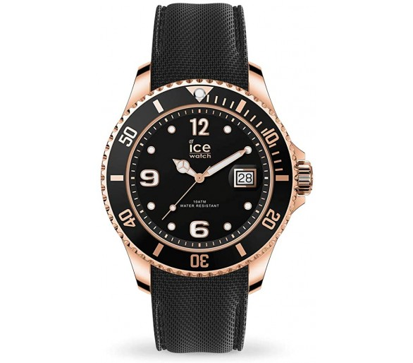 Ice Watch Steel Black Rose Gold 017327