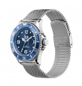 Montre ICE WATCH steel - Mesh blue - Medium - 3H