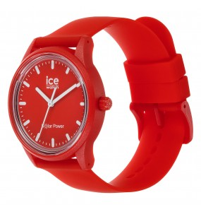 Montre ICE WATCH solar power - Red sea - Medium - 3H