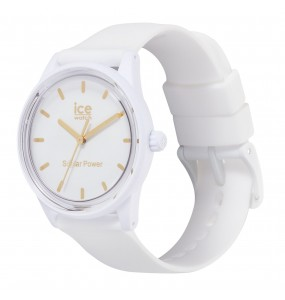Montre ICE WATCH solar power - White gold - Small - 3H