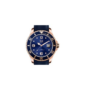 Montre ICE WATCH steel - Blue rose-gold - Large - 3H